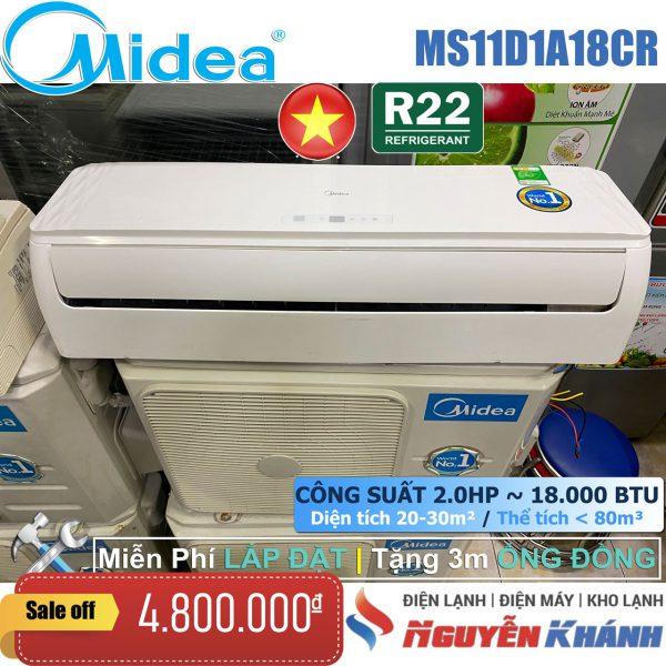Máy lạnh Midea MS11D1A-18CR 2HP