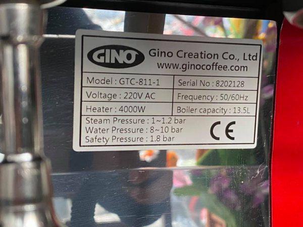 Máy pha cà phê tự động Gino GTC-811-1