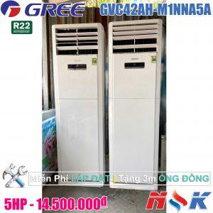 Máy lạnh tủ đứng Gree GVC42AH-M1NNA5A 5HP