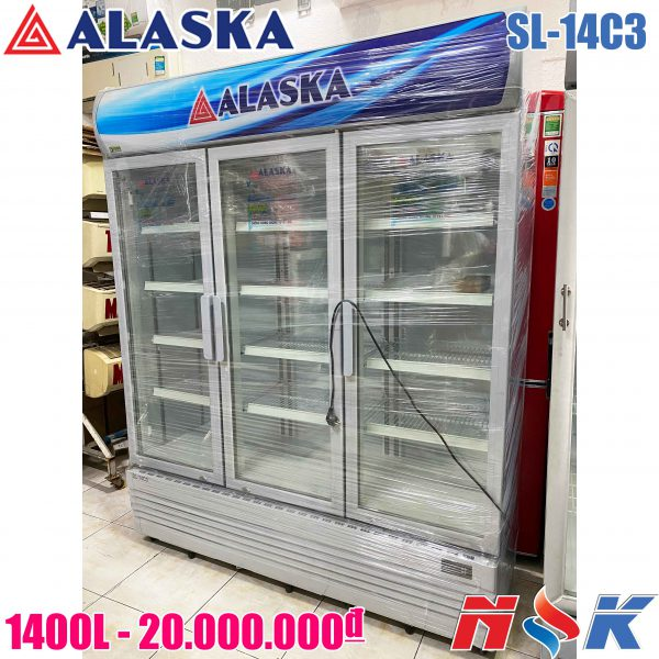 Tủ mát Alaska SL-14C3 1400 lít