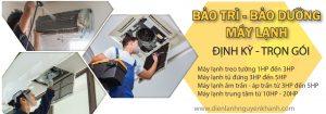 bảo trì, vệ sinh máy lạnh định kỳ