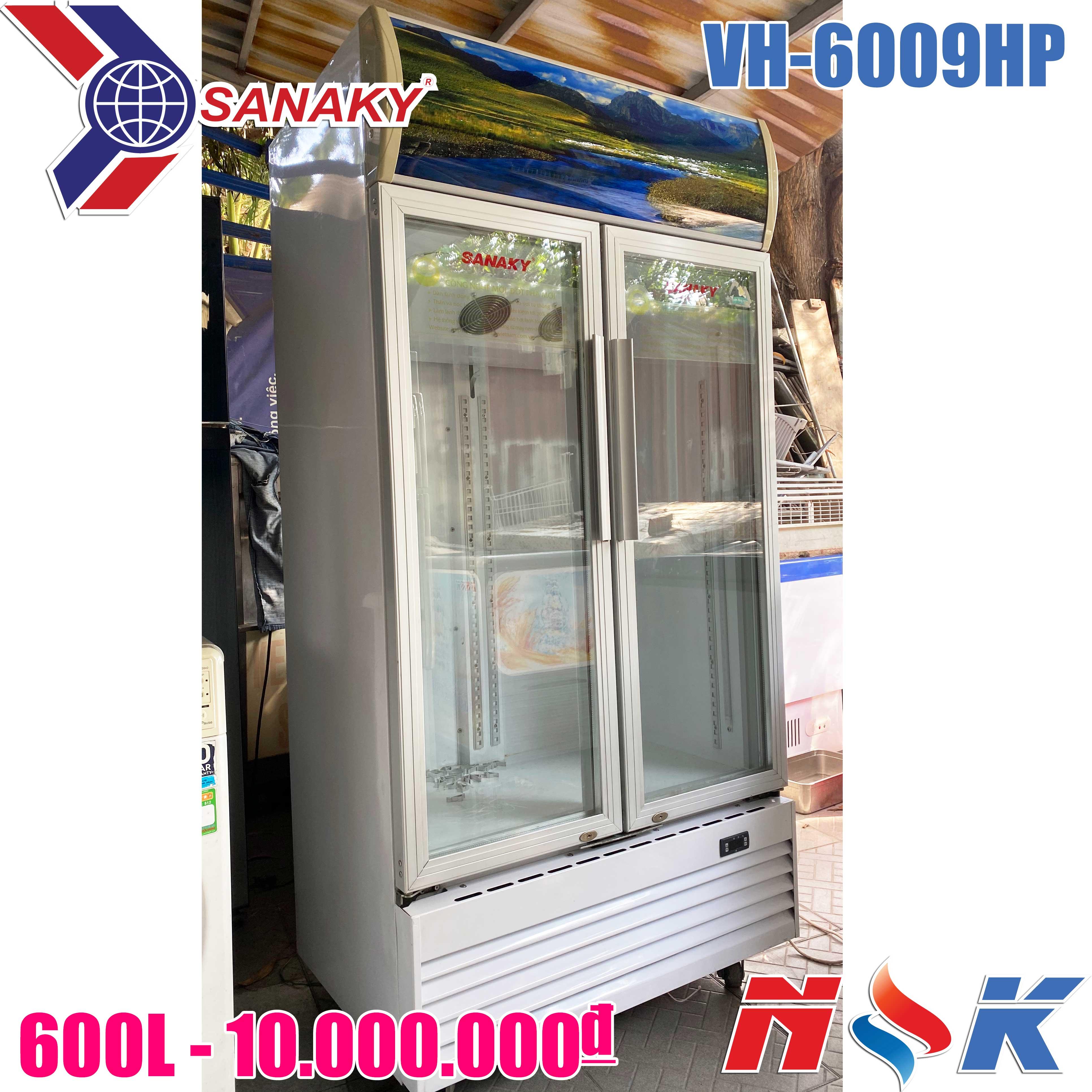 Tủ mát Sanaky VH-6009HP 600 lít