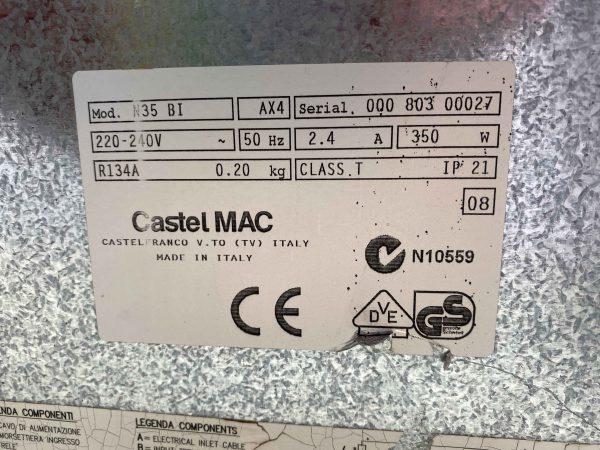 Máy làm đá viên Icematic N35 BI