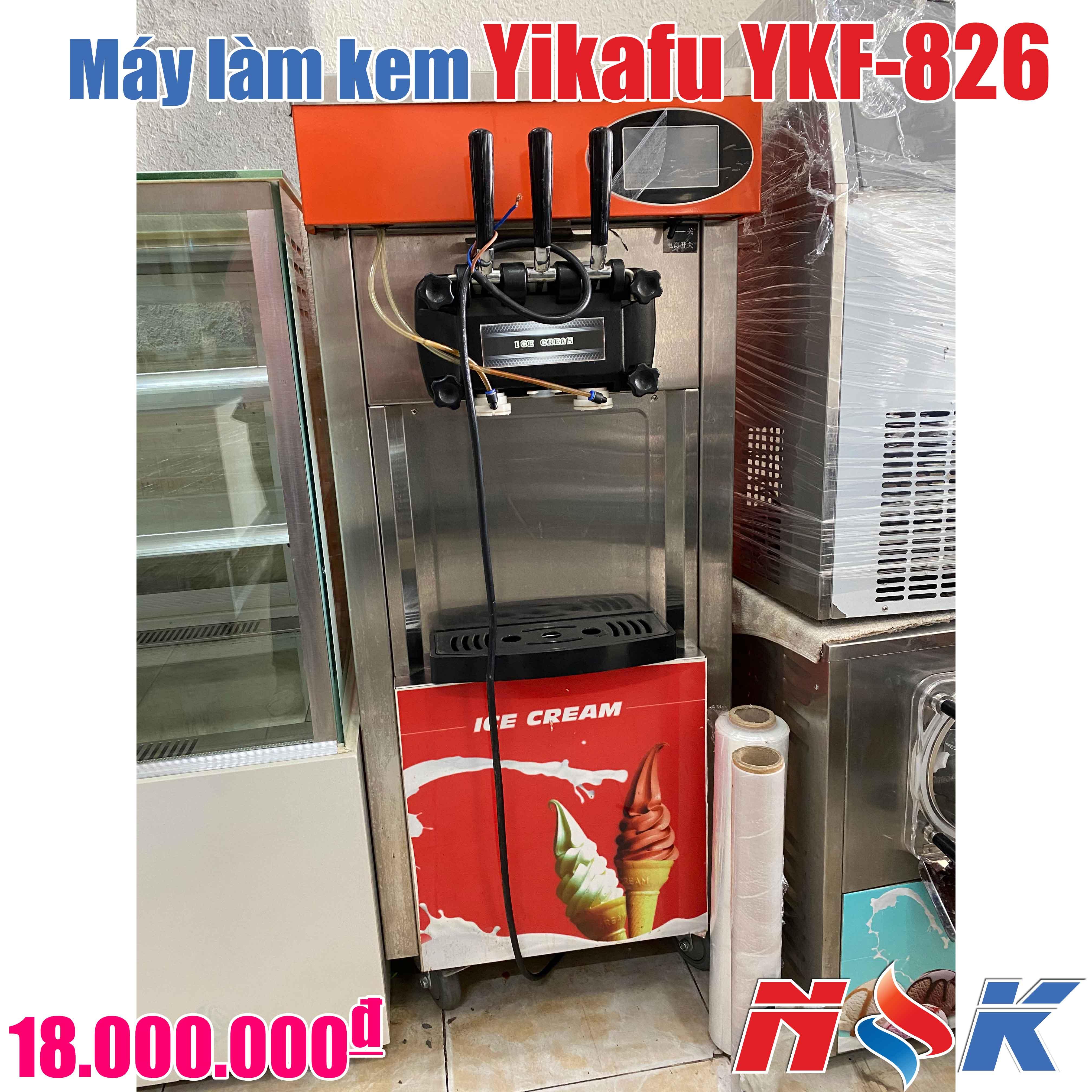 Máy làm kem tươi Yikafu YKF-826