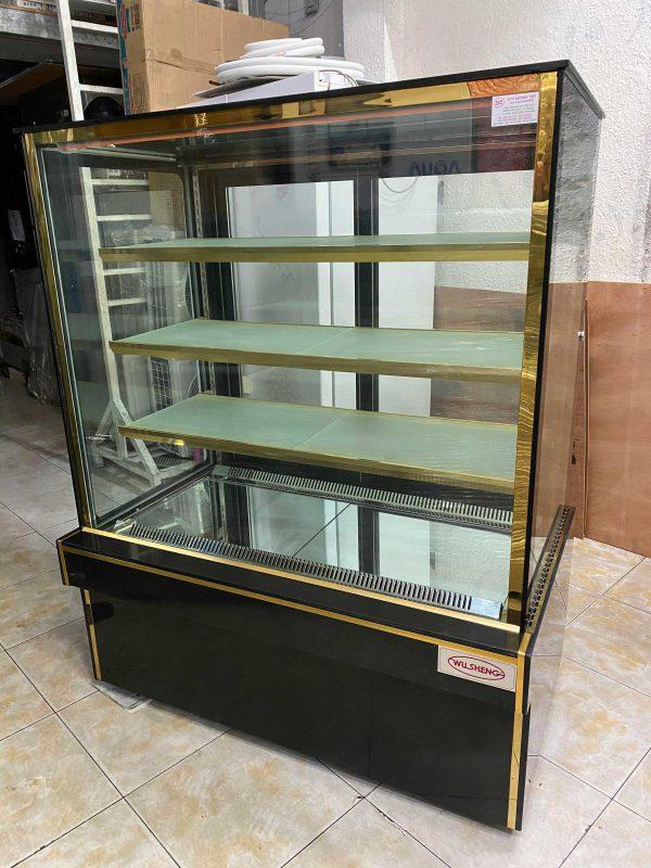 Tủ bánh kem kính vuông WuSheng WS-104A4