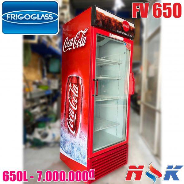 Tủ mát Coca Cola 1 cánh 650 lít