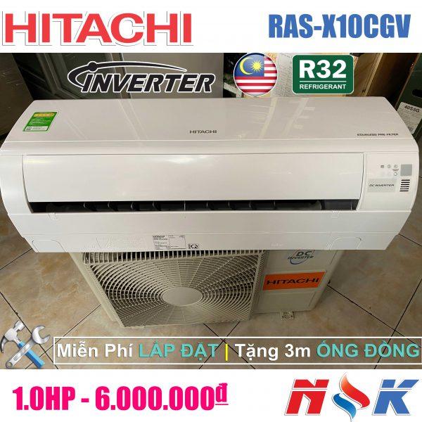 Máy lạnh Hitachi Inverter RAS-X10CGV 1HP