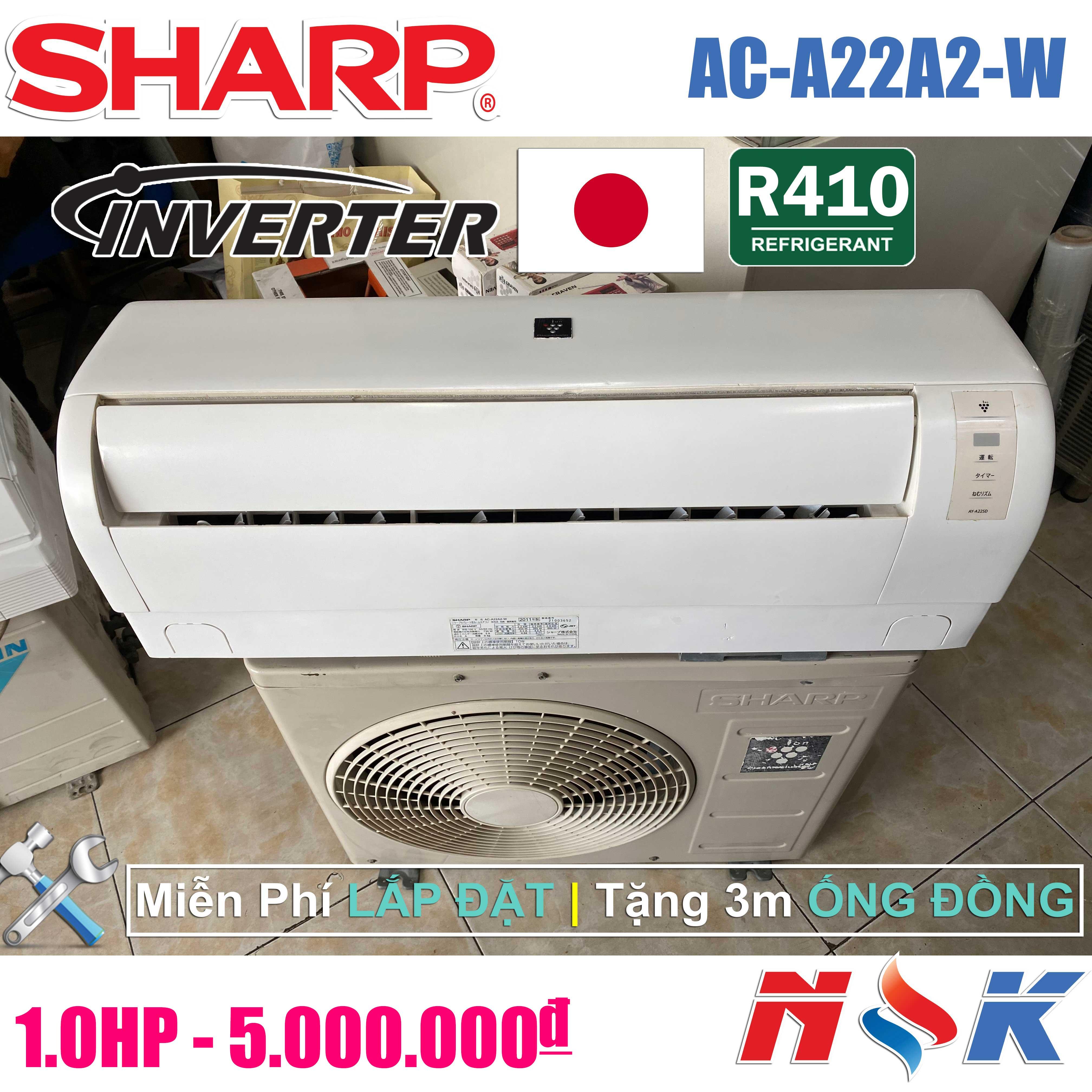 Máy lạnh Sharp Inverter AC-A22A2-W 1HP