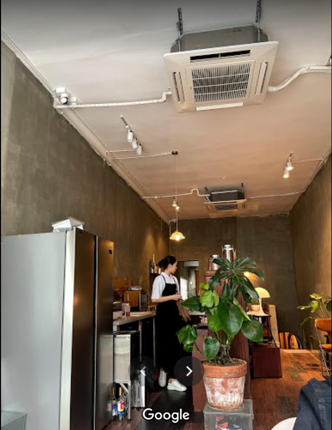 Lắp đặt máy lạnh âm trần LG 4HP quán cafe Quận 1