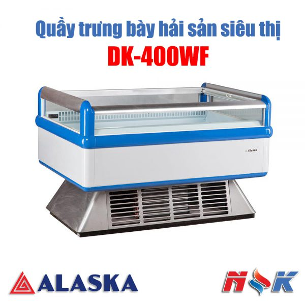Quầy trưng bày hải sản Alaska DK-400WH