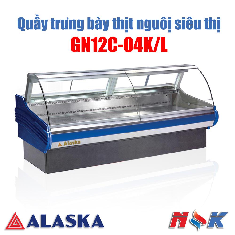 Quầy thịt nguội Alaska GN12C-04K