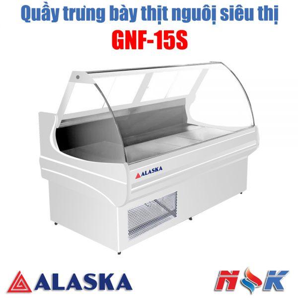Tủ mát trưng bày thịt nguội AlaskaGNF-15S