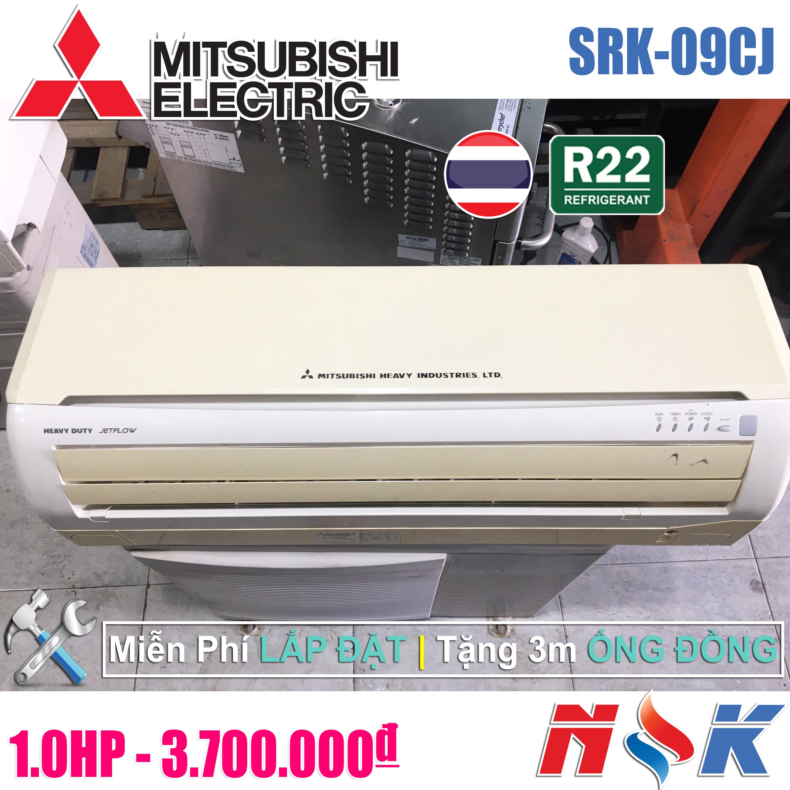 Máy lạnh Mitsubishi Heavy SRK-09CJ 1HP
