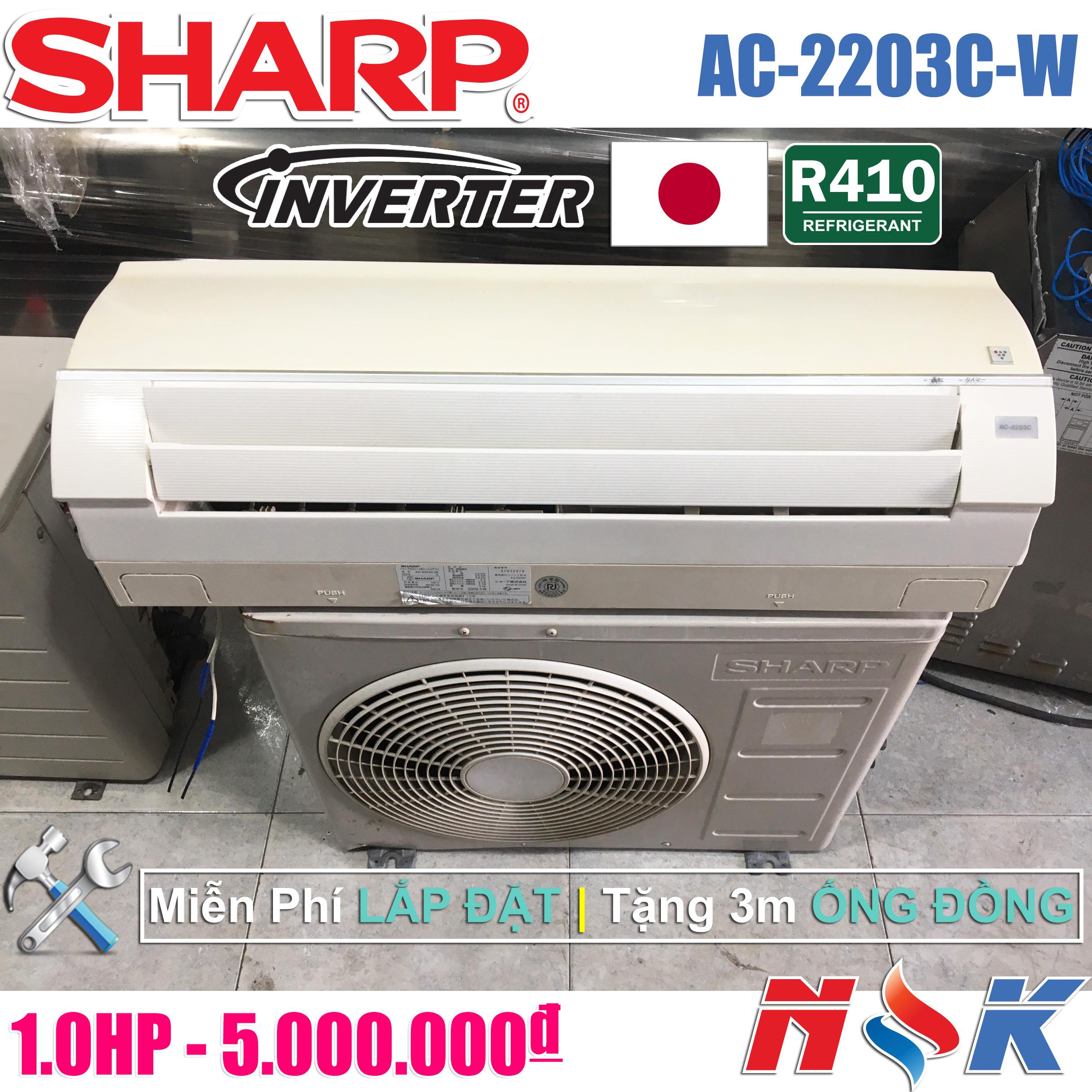 Máy lạnh Sharp Inverter AC-2203C-W1HP