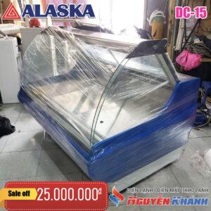 Tủ mát trưng bày thịt nguội Alaska DC-15