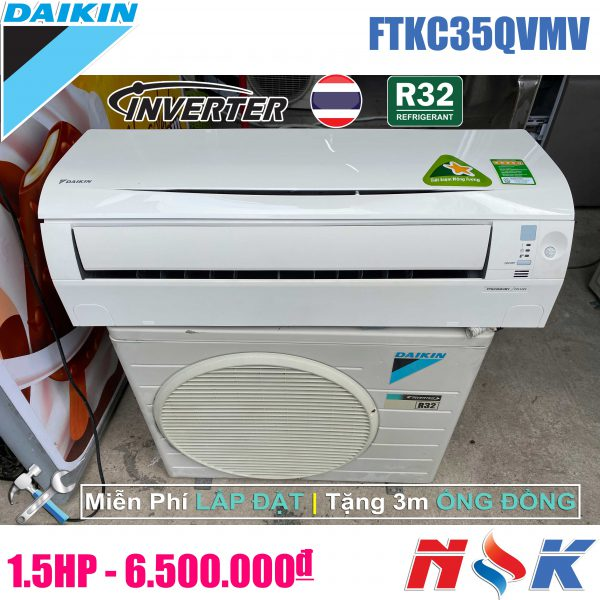 Máy lạnh Daikin Inverter FTKC35QVMV 1.5 HP