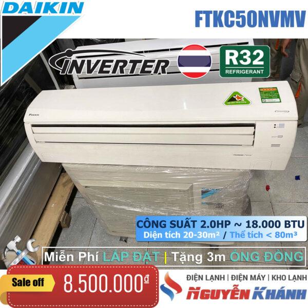 Máy lạnh Daikin Inverter FTKC50NVMV (2.0Hp)