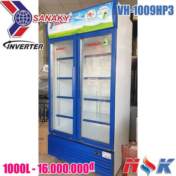 tủ mát Sanaky inverter VH-1009H