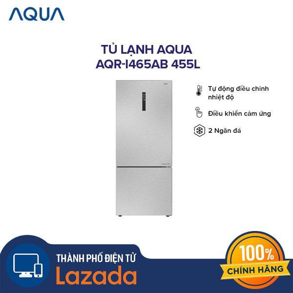 Tủ lạnh Aqua AQR-I465AB 455 lít