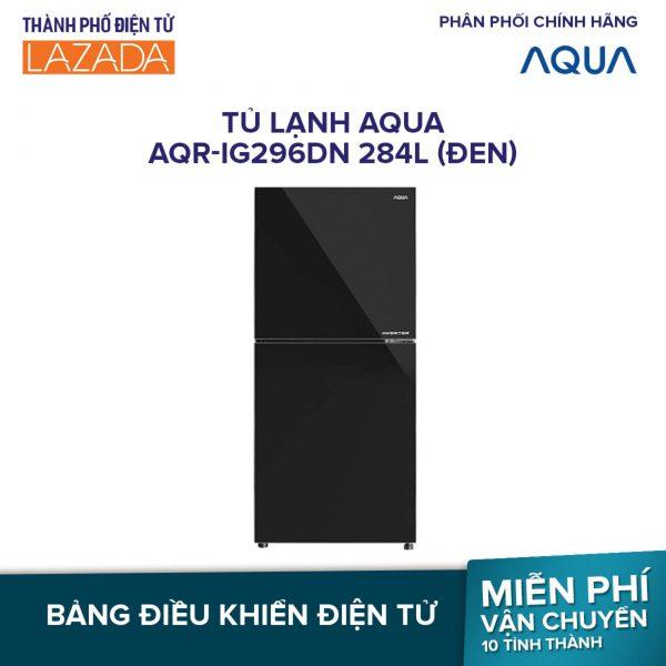 Tủ lạnh Aqua Inverter AQR-IG296DN 284 lít