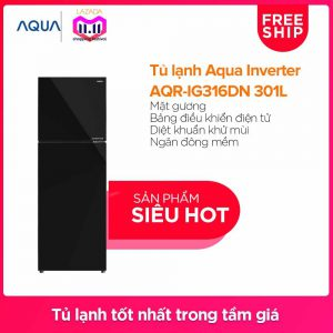 Tủ lạnh Aqua Inverter AQR-IG316DN 301 lít