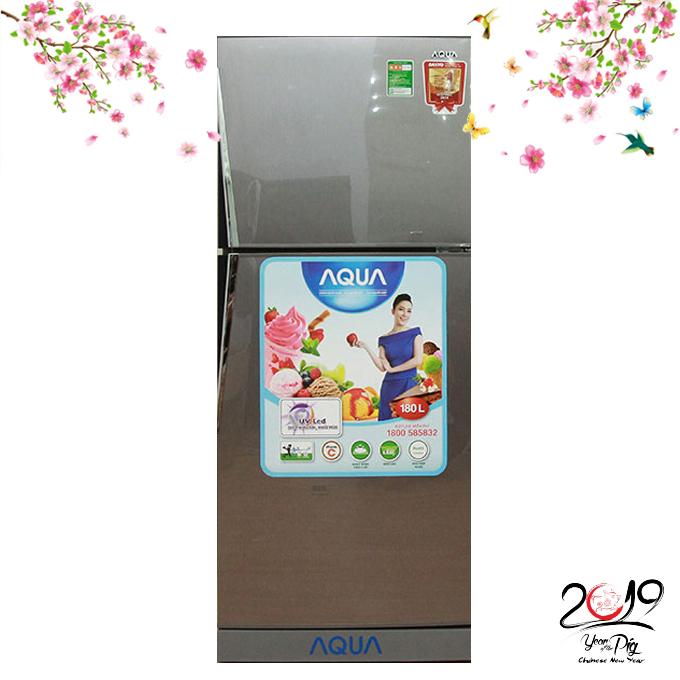 Tủ lạnh Aqua 165 lít AQR-U185BN