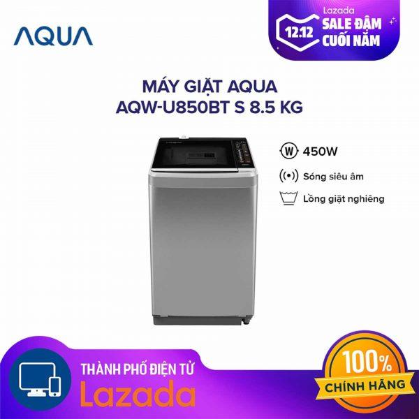 Máy giặt Aqua AQW-U850BT-S 8.5kg