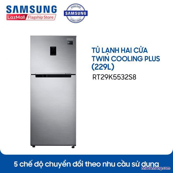 Tủ lạnh Samsung InverterRT29K5532S8299 lít