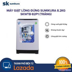 Máy giặt Sumikura SKWTB-82P1 8.2kg