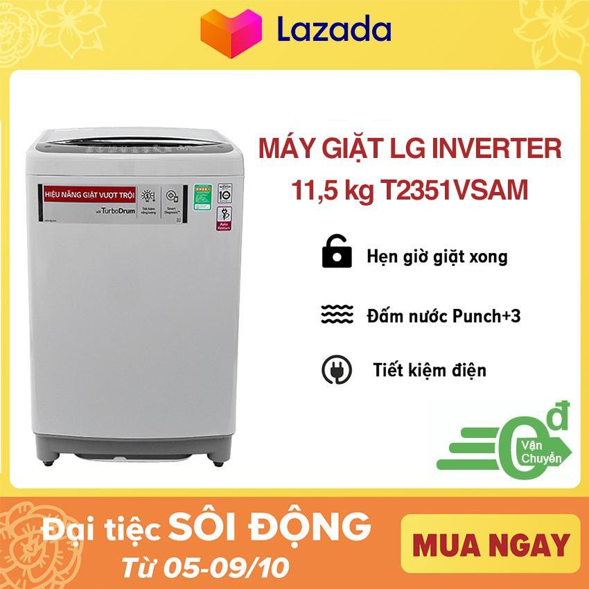 Máy giặt LG Inverter T2351VSAM 11.5 kg