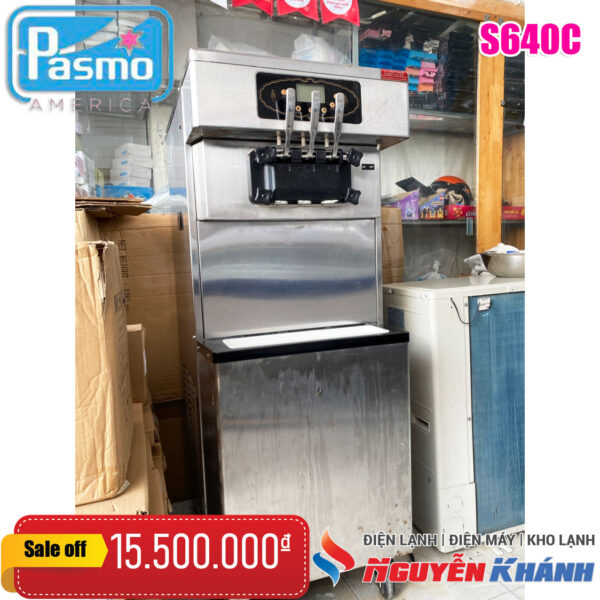Máy làm kem tươi Pasmo S640C