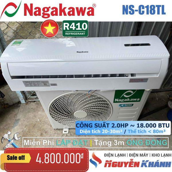 Máy lạnh Nagakawa NS-C18TL 2.0HP