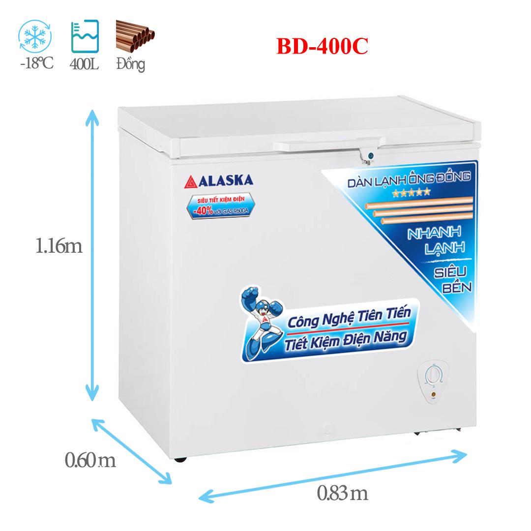 Tủ đông Alaska BD-400C 400 lít
