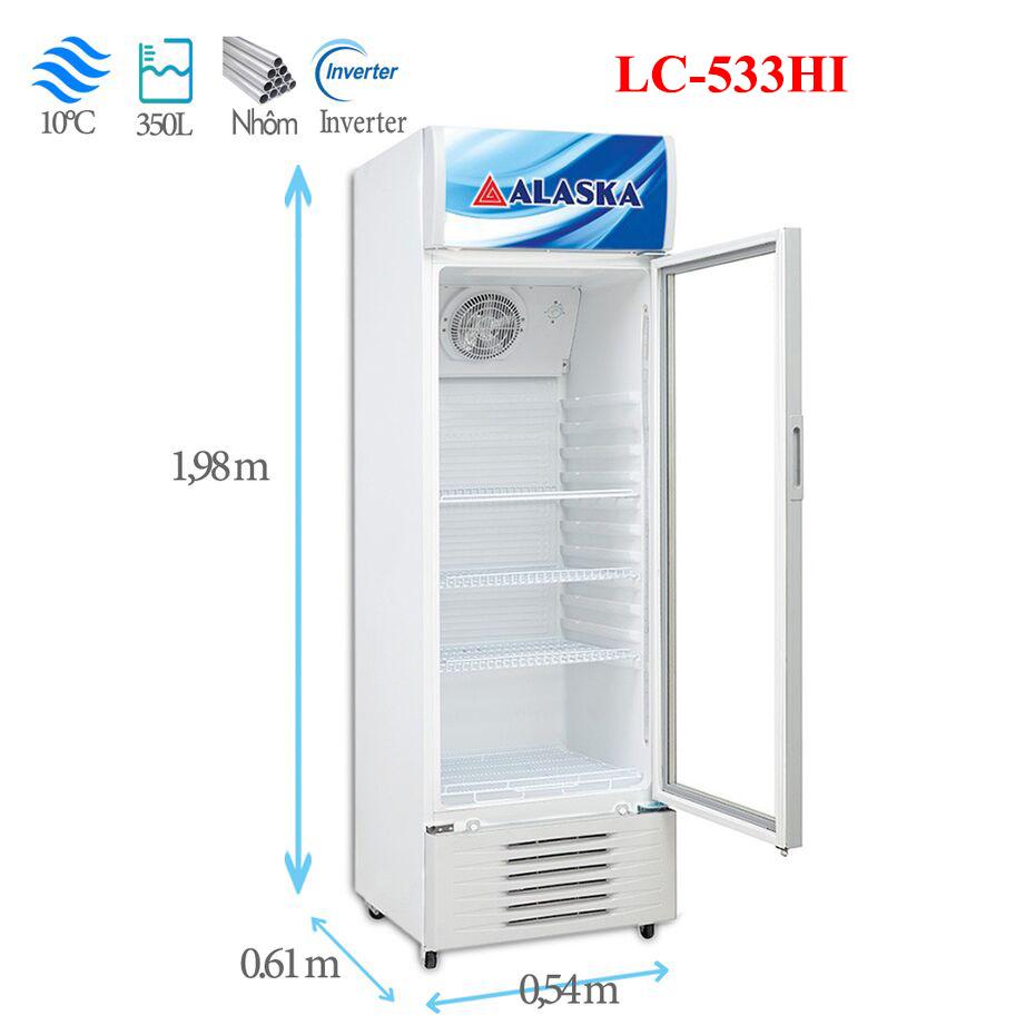 Tủ mát Alaska LC-533HI 350 lít