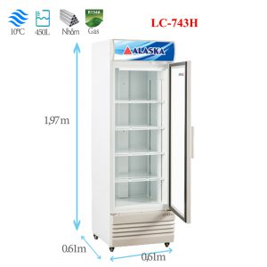 Tủ mát Alaska LC-743H 450 lít