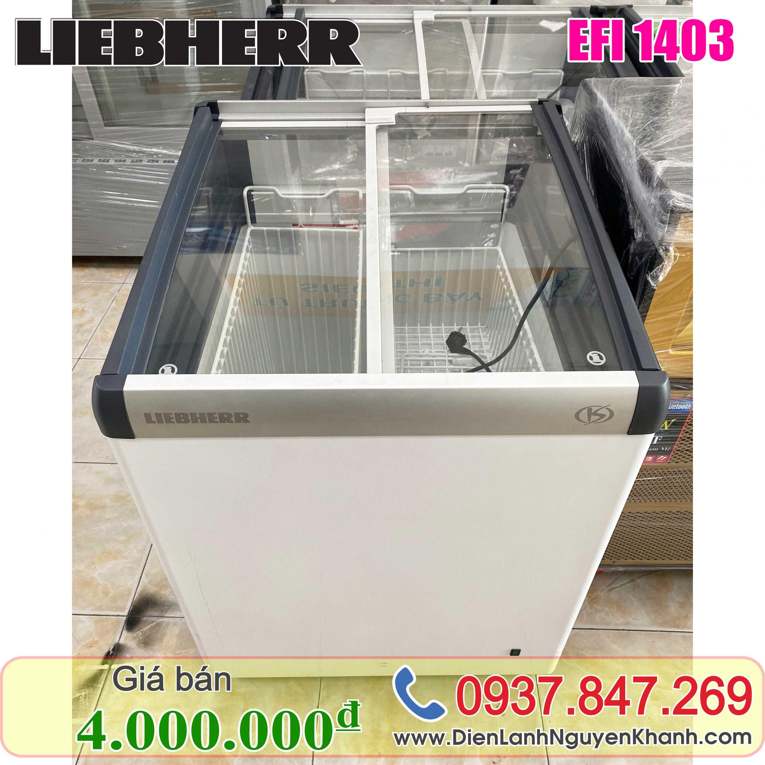 Tủ đông Liebherr EFI-1403 135 lít