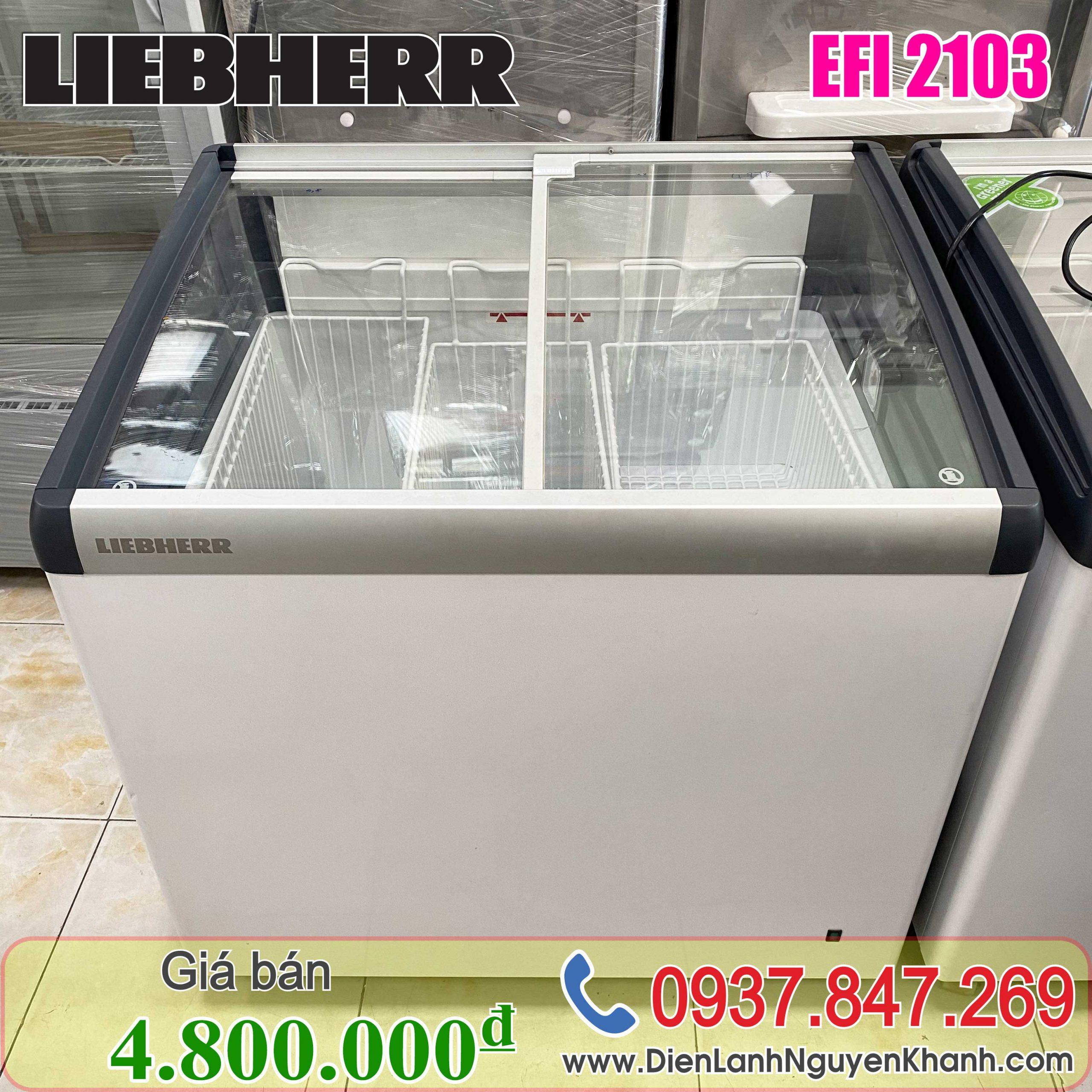 Tủ đông Liebherr EFI-2103 206 lít