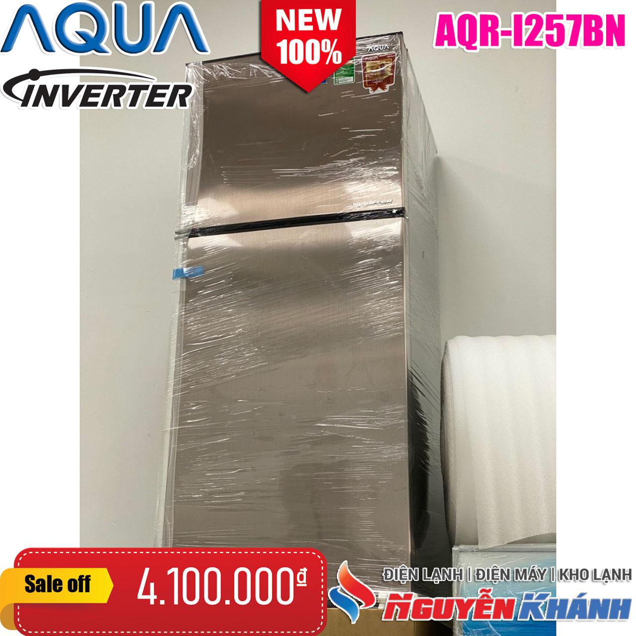 Tủ lạnh Aqua Inverter 252 lít AQR-I257BN