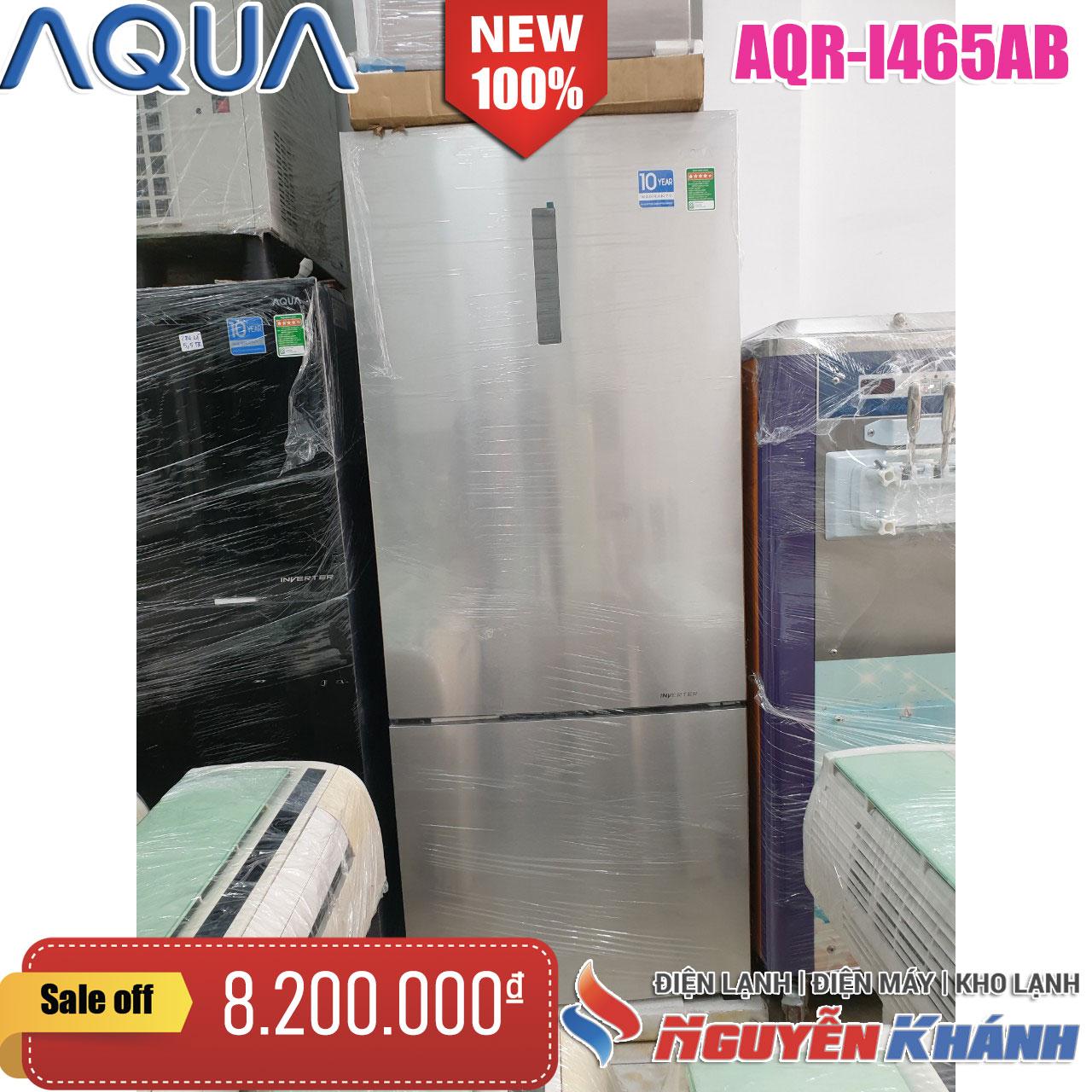 Tủ lạnh Aqua 455 lít AQR-I465AB