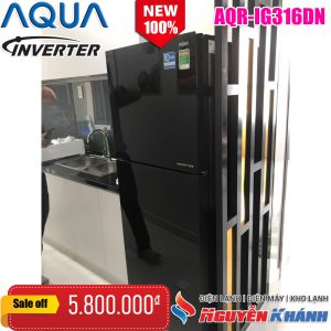 Tủ lạnh Aqua Inverter 301 lít AQR-IG316DN