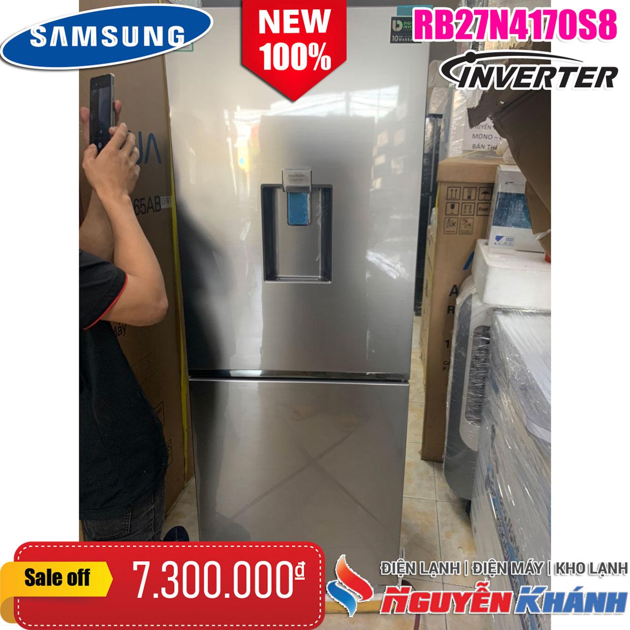 Tủ lạnh Samsung InverterRB27N4170S8/SV