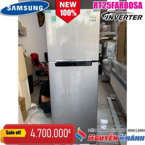 Tủ lạnh Samsung Inverter 255 lít RT25FARBDSA
