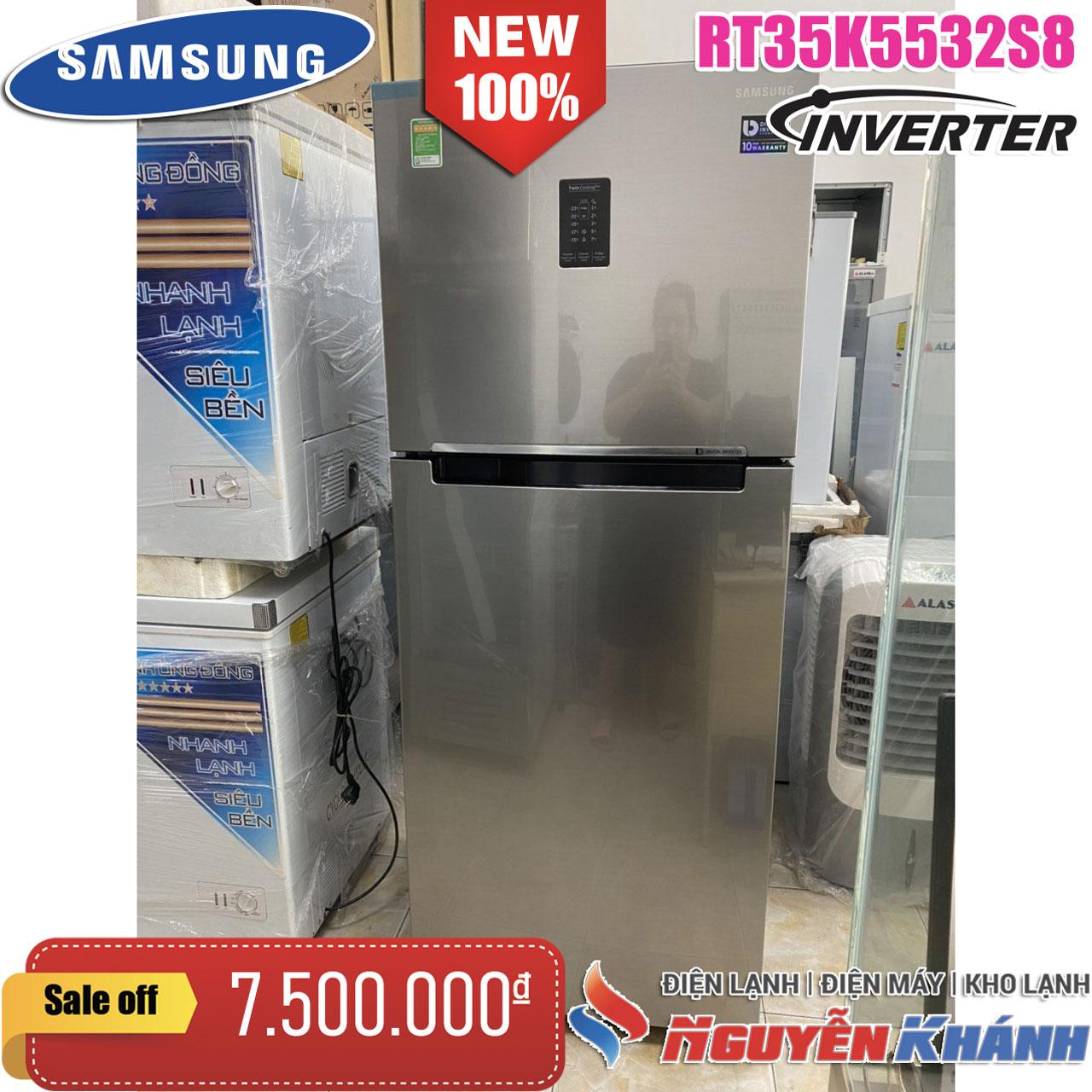 Tủ lạnh Samsung InverterRT35K5532S8