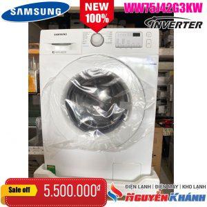 Máy giặt SamsungInverter7.5kg WW75J42G3KW/SV