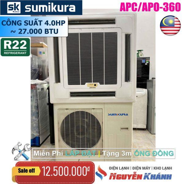 Máy lạnh âm trần Sumikura APC/APO-360 (4.0Hp)