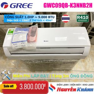 Máy lạnh Gree GWC09QB-K3NNB2H (1.0Hp)