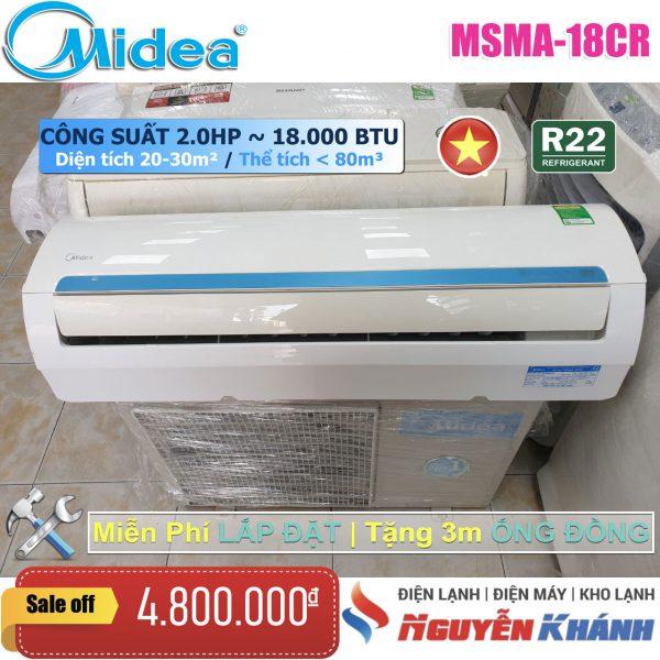 Máy lạnh Midea MSMA-18CR (2.0Hp)