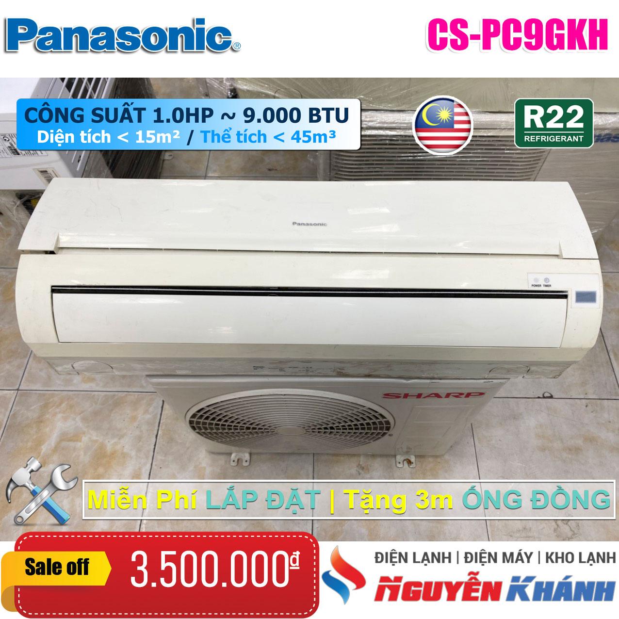 Máy lạnh Panasonic CU/CS-PC9GKH (1.0Hp)