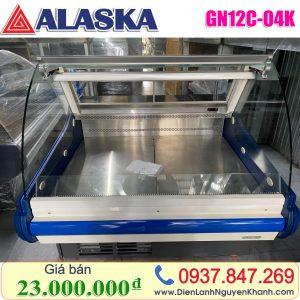 Tủ mát trưng bày thịt Alaska 1.3m GN12C-04K