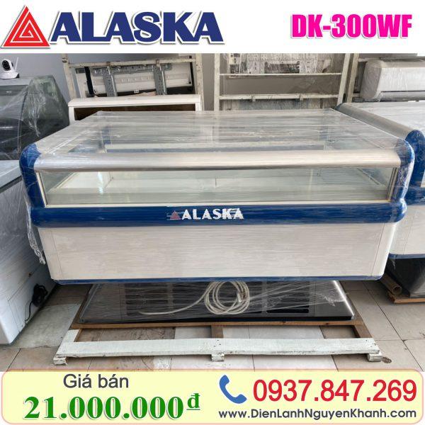 Tủ đông trưng bày siêu thị Alaska 1.5m DK-300WH